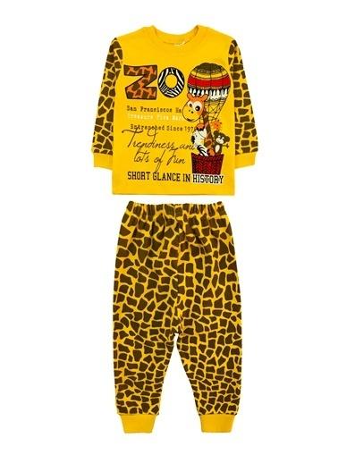 By Leyal For Kids Pijama Takım Oranj